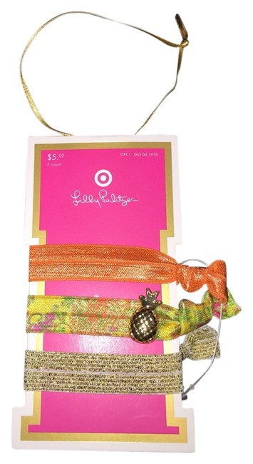 Item - Orange Gold Multi-color For Target Ties Hair Accessory