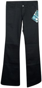 Dickies Chino Pockets Cotton Blend Work Boot Cut Pants Black