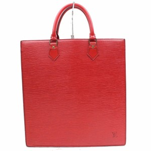 Louis Vuitton M52887 Sac Plat Lv Epi Leather Lv Bags Tote in Red