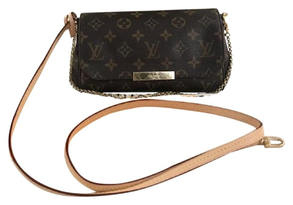 d9beaaf1966b Louis Vuitton Favorite Crossbody Clutch Wallets Shoulder Bag Image 0 ...
