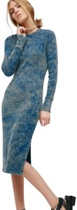 Blue & Olive green Maxi Dress by Cotton Citizen