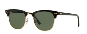 Ray-Ban Classic Clubmaster RB 3016 w0365 BLACK -FREE 3 DAY SHIPPING-