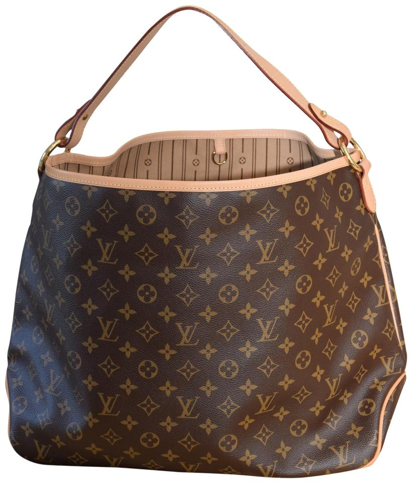 5701ceeffcc Louis Vuitton Delightful Mm Lv Delightful Mm Tote in Monogram with beige  lining Image 0 ...