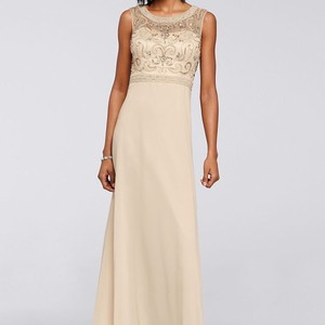 c7922f6454c8 David's Bridal Modest Bridesmaid & Mother of the Bride Dresses - Up ...