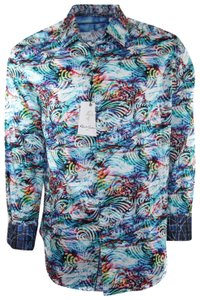Robert Graham Gucci Shirt Shirt Men's Shirt Shirt Classic Fit Shirt Button Down Shirt Multicolor