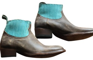 Matisse brown and turquoise Boots