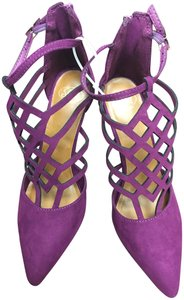 SM New York Strappy Spike purple Sandals