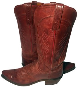 Lucchese Size 9 Women Size 9 1883 Red Boots