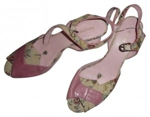 Kensie tapestry pinks Platforms