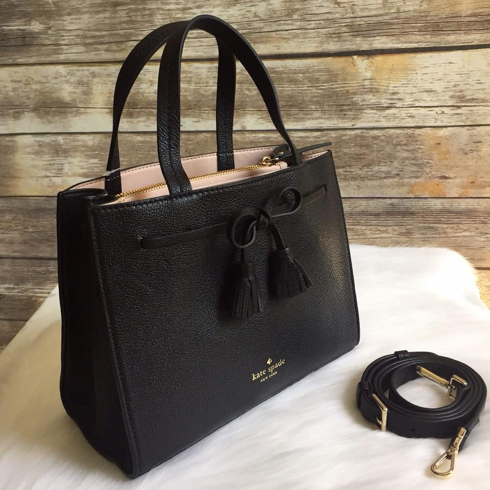 387b86e20726 Kate Spade New York Hayes Street Isobel Crossbody Black Satchel ...
