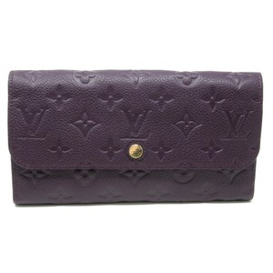 Louis Vuitton Monogram GM Empreinte Calfskin Leather Curieuse Wallet