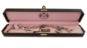 Juicy Couture JUICY COUTURE Lock & Key Charm Bracelet with Box