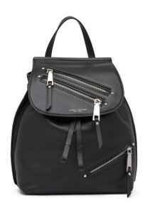 Marc Jacobs Zip Pack Adjustable Straps Leather Backpack