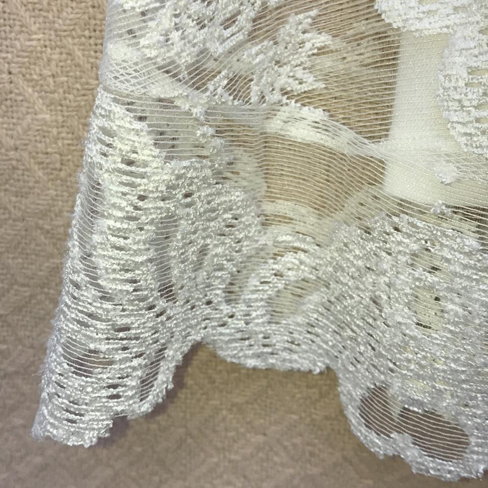 5174f5b8ae34a For Love & Lemons White Lulu French Silk Lace Short Cocktail Dress ...