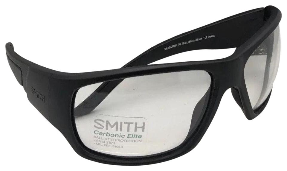 f2888301e9a Smith Optics New SMITH OPTICS Eyeglasses DRAGSTRIP TACTICAL Matte Black  Clear ANSI Image 0 ...