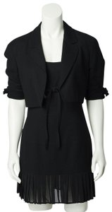 Claude Montana short dress Black on Tradesy