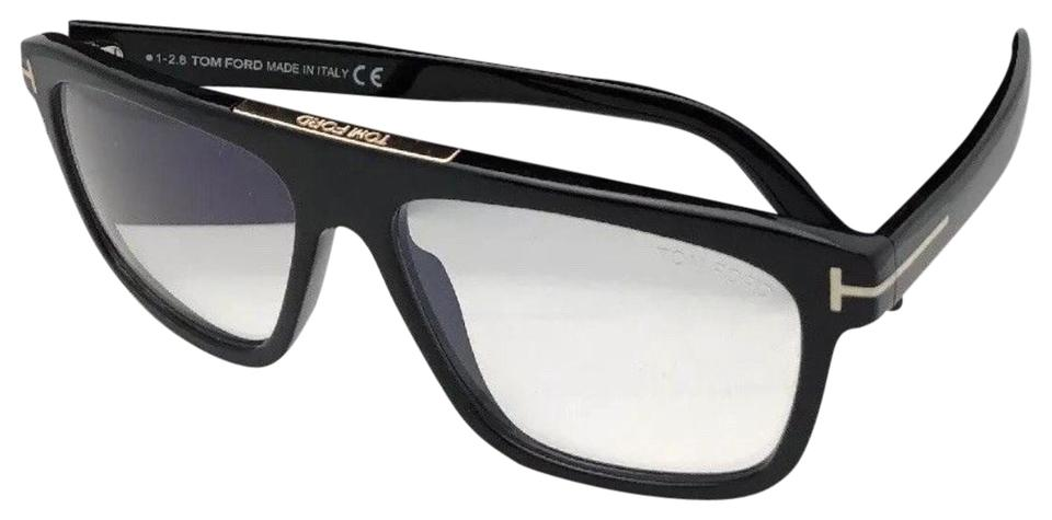 98684fbb5e Tom Ford New Cecilio-02 Tf 628 001 57-15 145 Black Frame W Clear ...