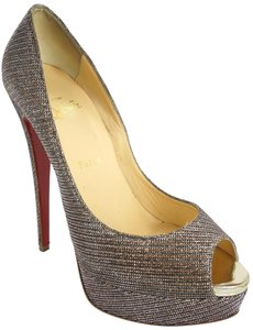 Christian Louboutin Party Formal Beige Pumps