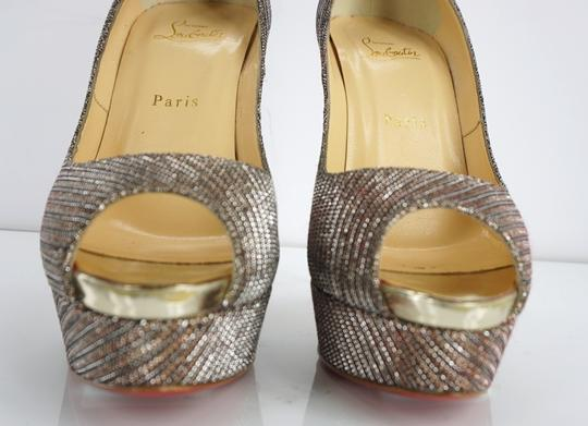 Christian Louboutin Party Formal Beige Pumps Image 1