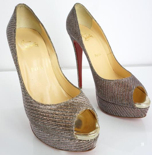 Christian Louboutin Party Formal Beige Pumps Image 10