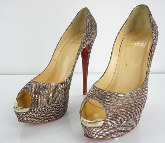Christian Louboutin Party Formal Beige Pumps Image 11