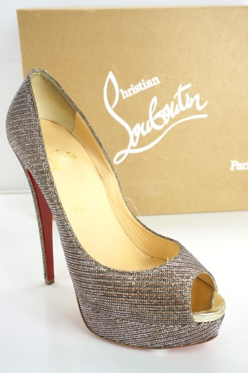 Christian Louboutin Party Formal Beige Pumps Image 4