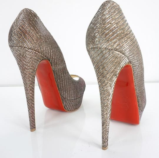Christian Louboutin Party Formal Beige Pumps Image 5