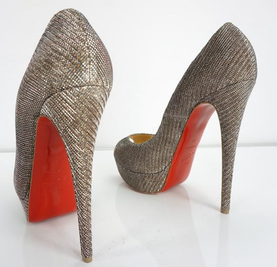 Christian Louboutin Party Formal Beige Pumps Image 7
