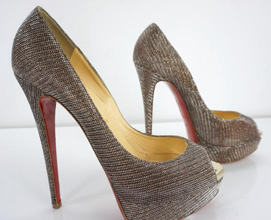 Christian Louboutin Party Formal Beige Pumps Image 9