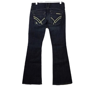 William Rast Boot Cut Pants Blue