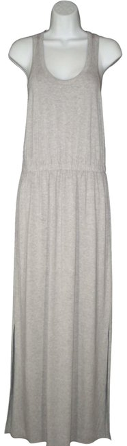 Item - Gray Stretch Tank Long Casual Maxi Dress Size 8 (M)