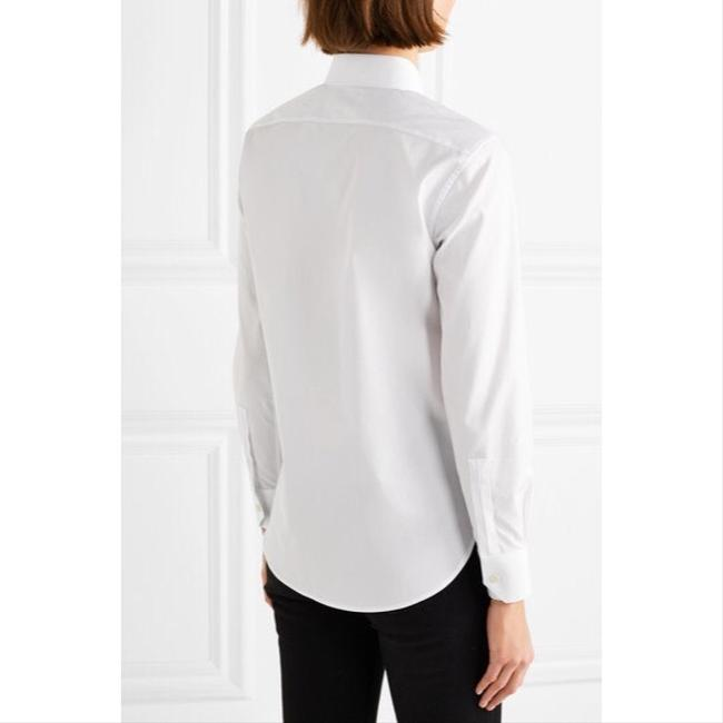 Saint Laurent Balenciaga Off Alexander Wang Vetements Balmain Button Down Shirt White