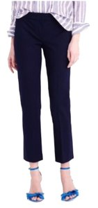 J.Crew Campbell Crop Date Night Capri/Cropped Pants Navy