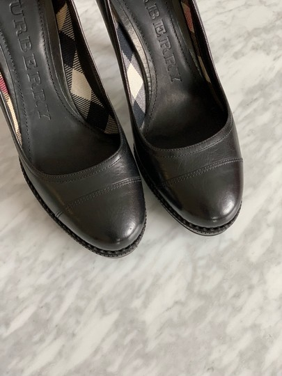 Burberry Black Pumps Image 5