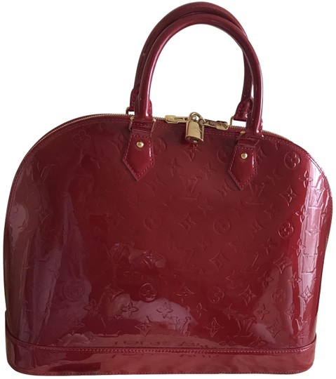 Preload https://img-static.tradesy.com/item/24171913/louis-vuitton-alma-gm-red-vernis-leather-satchel-0-1-540-540.jpg
