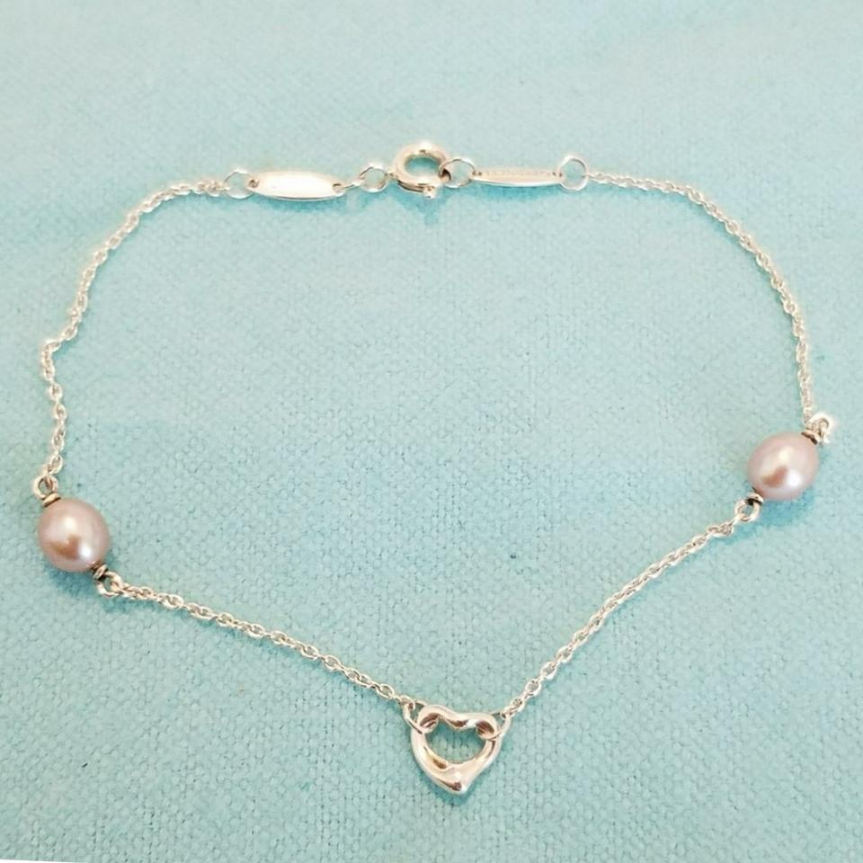 e8d049bc0 Tiffany & Co. Pearls by the yard open heart bracelet Image 5. 123456