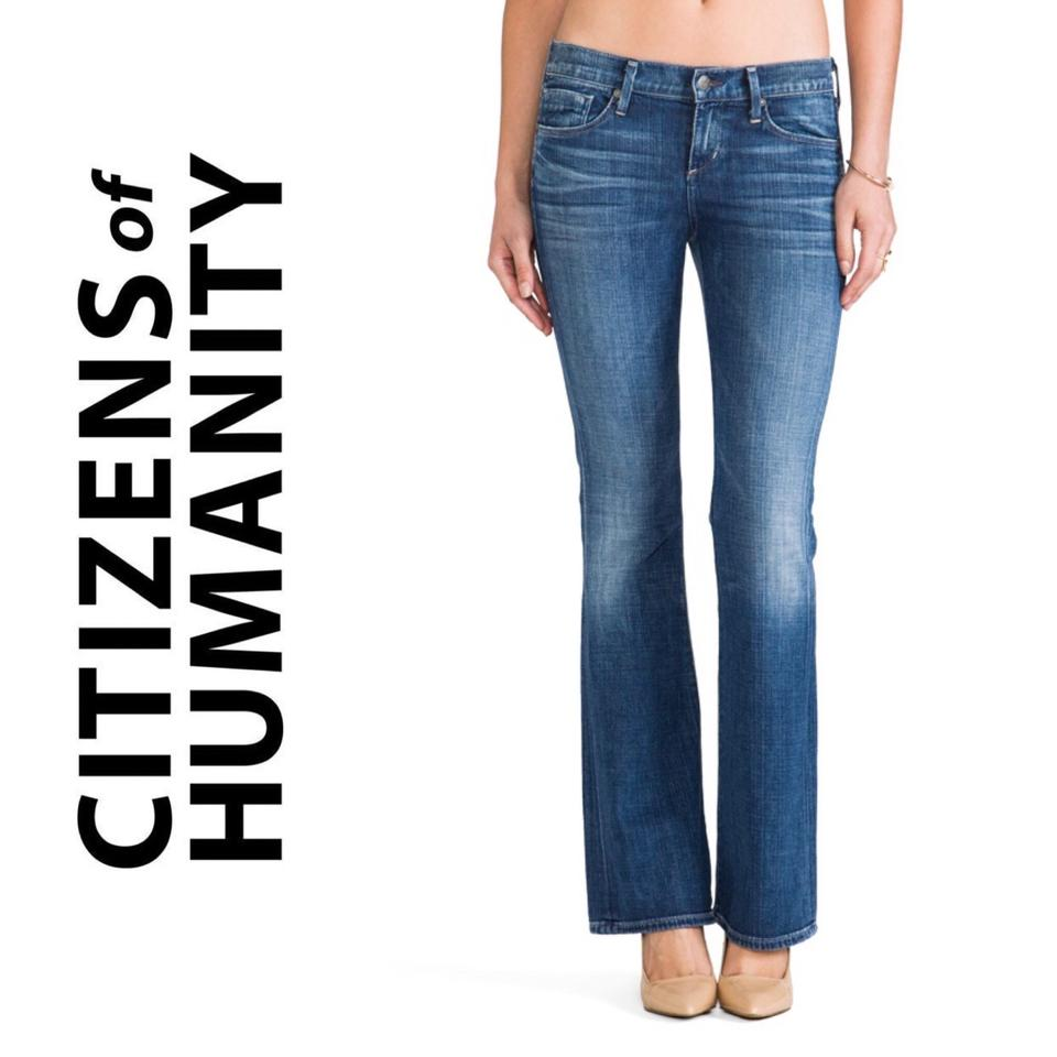 0ad03a090c7 Citizens of Humanity Blue 10347 Dita Petite Boot Cut Jeans Size 25 ...