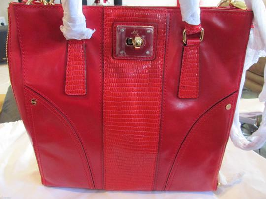 MILLY Tote in RED Image 1