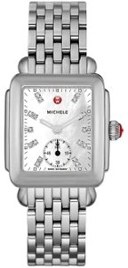 Michele New Deco Mother of Pearl Diamond Dial MWW06V000002