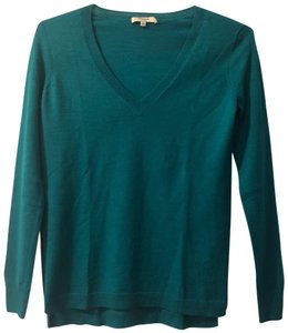 Madewell V-neck Fitted Fall Winter Bright Sweater