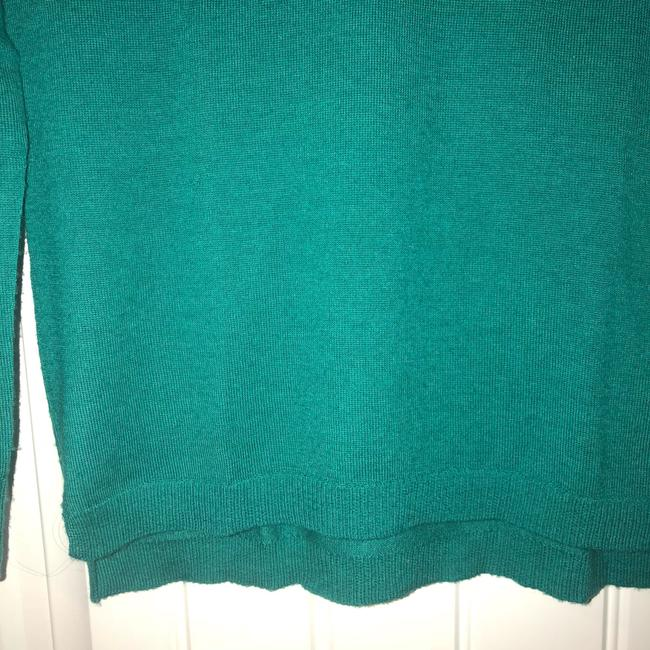 Madewell V-neck Fitted Fall Winter Bright Sweater Image 2