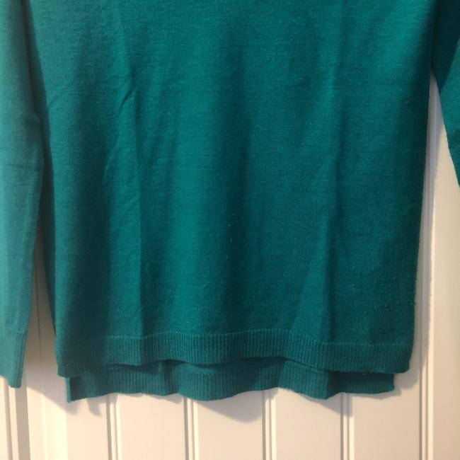 Madewell V-neck Fitted Fall Winter Bright Sweater Image 4
