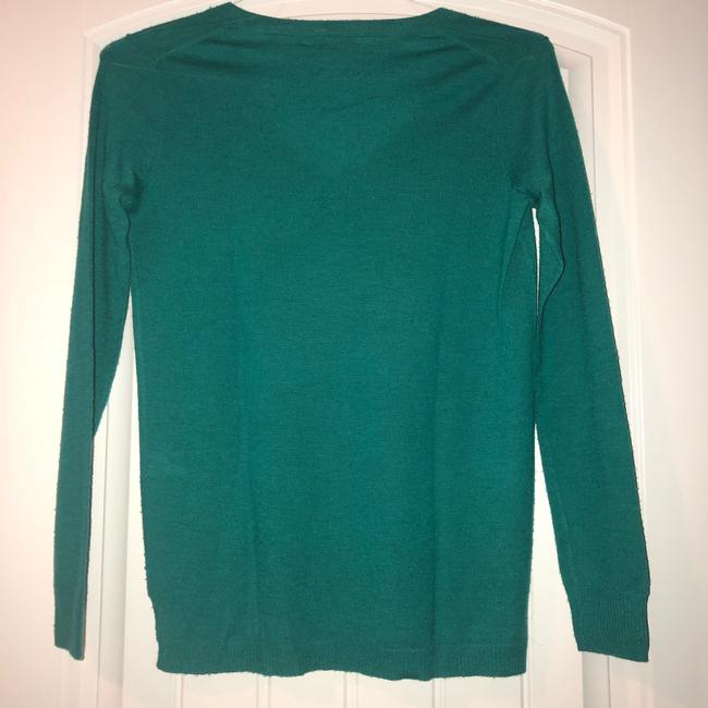 Madewell V-neck Fitted Fall Winter Bright Sweater Image 7