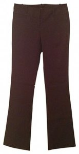 The Limited Exact Stretch Size 2l With Rib Detai Flare Pants Brown