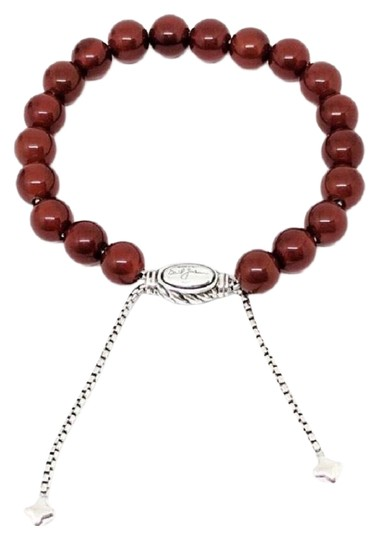Preload https://img-static.tradesy.com/item/24173094/david-yurman-carnelian-spiritual-beads-8mm-with-pouch-58-98-adjustable-comes-with-pouch-bracelet-0-2-540-540.jpg