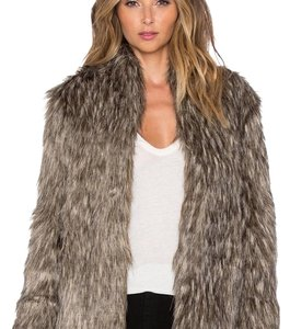 Lovers + Friends Fur Coat