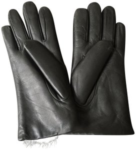 Fownes Leather Fur Lined Gloves