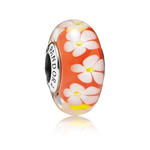 PANDORA Pandora Tropical Flower Charm - catalog #791624