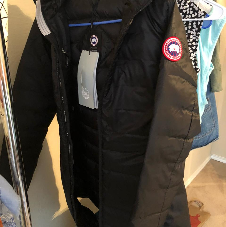 f1c275690 Canada Goose Black Hybridge Lite' Slim Fit Hooded Packable Down Coat Size 4  (S) 31% off retail