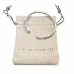 "David Yurman David Yurman Classic Cable Morganite Bangle Bracelet with Diamonds Sterling silver Small: 6.75"" 5mm Gorgeous morganite and small round diamonds at both ends of bangle 100% Authentic Guaranteed Comes inside original David Yurman pouch!"